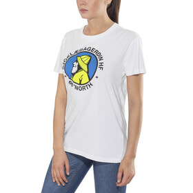 66° North Gola Organic Cotton T-Shirt Men White